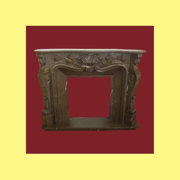 Marmol emperador ref c037 chimeneas belloren for Marmol y granito emperador