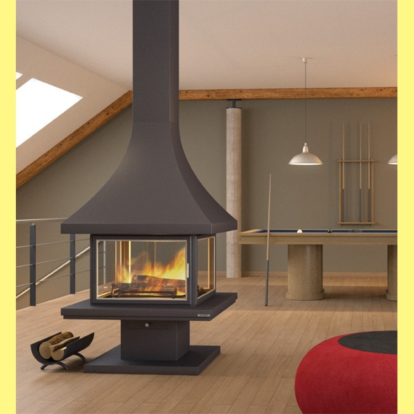 chimenea central ch86pca chimeneas belloren. Black Bedroom Furniture Sets. Home Design Ideas